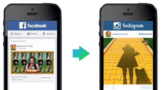 examples of facebook ads, creative ads, Instagram ads